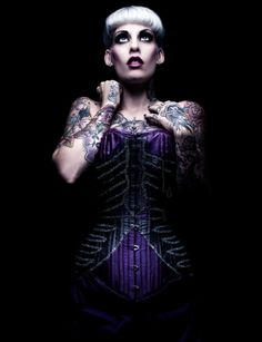 Corset Style Watch: 5 Spooky Skeleton Corsets - The Lingerie Addict Boned Corsets, Lace Tights, Fashion Watches, Goth, Feminine, Wonder Woman, Lingerie, Lady, Womens Fashion