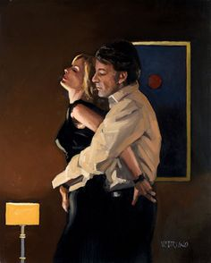 Beautiful Dreamer by Jack Vettriano Framed /& Mounted Art Print Black Frame
