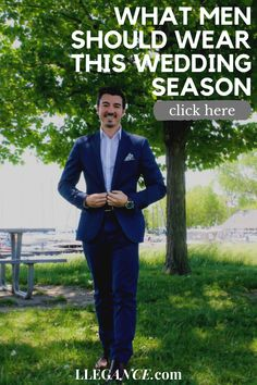 Click here to learn about What men should wear this wedding season on Llegance! You'll find pins about mens clothing wedding guest and mens clothing wedding groom attire. Additionally, mens clothing wedding casual and mens clothing wedding styles. As well as, mens clothing wedding outfit and mens wedding attire guest summer. Also, mens wedding attire rustic and mens wedding attire casual. Stylish mens suits wedding black and mens suits wedding summer.  #menswear #wedding #suit Wedding Black, Wedding Summer, Wedding Men, Wedding Groom, Wedding Attire, Wedding Styles, Smart Casual Outfit, Casual Summer Outfits, Men Casual