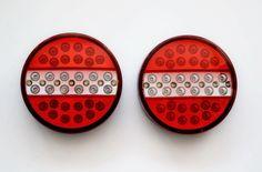 2 x LED 12 V Rückleuchte Rücklicht Heckleuchte Auflieger Anhänger PKW LKW A33