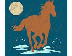 """Check out new work on my @Behance portfolio: """"Horse illustration"""" http://be.net/gallery/53430249/Horse-illustration"""