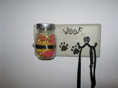 Custom Shabby Chic Dog Leash Holder Dog by PineTerraceTreasures, $24.99  Dog Treats, Leash Not Included