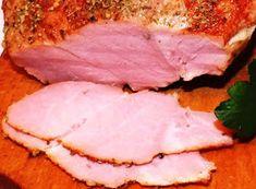 domowe smakołyki: Szynka gotowana 2x5 minut Diet Recipes, Recipies, Kielbasa, Pork, Food And Drink, Meat, Cooking, Homemade, Recipes
