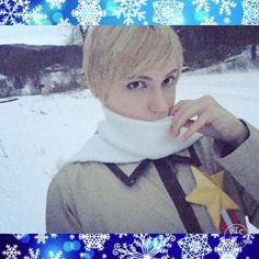 Okay @thelittlestsenpai here is my Russia cosplay. Yeah I actually feel pretty good about this cosplay. Thank you for asking me to do it! I otherwise would not have ever redone my first cosplay. #russia #russiacosplay #cosplay #cosplayer #winter #otaku #hetalia #hetaliacosplay #genderfluid #anime #cosplaymakeup #makeup #makeupaddict #makeupartist #gay #ivanbraginsky #ivancosplay #hetaliarussia #aph #aphrussia #aphcosplay