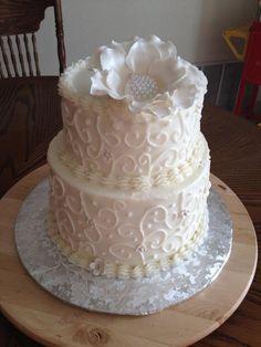 46th anniversary cake
