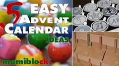 5 Adventskalender Ideen | Easy - Low budget - DIY | advent calendar | ma...