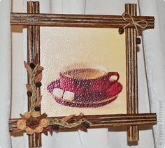 Мастер-класс Рама паспарту Эконом рамки для ваших творений  Бумага Клей Краска Шпагат фото 30