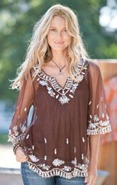 <3 this tunic...Color, fabric, pattern, the fall and everything!!! I want!!!