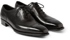 $1,600, George Cleverley Anthony Cameron Leather Brogues. Sold by MR PORTER.