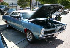 Pontiac GTO. Historic Downtown DeLand, FL Cruise-In. June 16, 2012. Photo by Luis » The Motor Bookstore, www.themotorbookstore.com