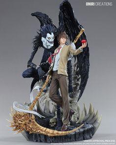 Death Note - 1/6 - Ryuuk & Yagami Light - Oniri Créations (?)  - Statuen / PVC - Figuren - Japanshrine