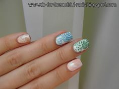 Aztec or mexico nails
