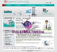 Violet Multimedia   » Sarang Computers WebSite Design