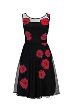 eShakti Women's Illusion floral applique tulle dress 1X-16W Short Black/red eShakti http://www.amazon.com/dp/B00NQ0TX3Q/ref=cm_sw_r_pi_dp_Vsghub0WAACB0
