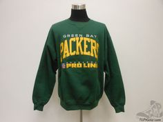 VTG 90s Russell Athletic Green Bay Packers Crewneck Sweatshirt sz XL Pro Line #RussellAthletic #GreenBayPackers #tcpkickz
