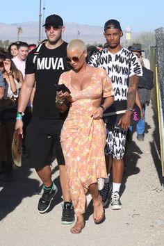 Amber Rose Daily           - MUVA at the Coachella !