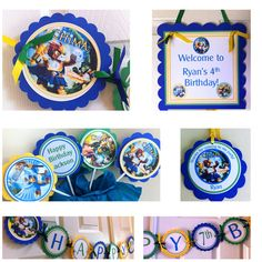 The Legends of Chima party package by BerrySweetParties on Etsy, $55.00