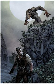 BRUDE'S WORLD : The Lycan by Liam Sharp