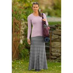 Stripe Splendor Maxi Skirt | Athleta