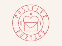 A stamp logo for a new 5 x 7 postcard project I'm starting next. I made my own stamp texture and I have it for free on my blog :) http://warpaintstudio.com/freebie-stamp-texture/