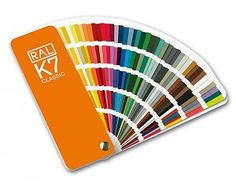RAL K7 Kleurenwaaier