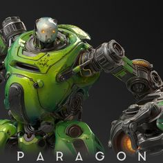 Crunch for Paragon, Gabriel Wigierski on ArtStation at https://www.artstation.com/artwork/Pwr5y