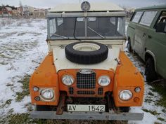Land Rover Serie I. Rescue. Spain. 1954