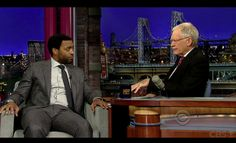In case you missed it, 12 YEARS A SLAVE star Chiwetel Ejiofor chatted with David Letterman about the film!