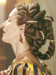 Save The Borgias Fan Campaign Renaissance Hairstyles, Historical Hairstyles, Hair Inspo, Hair Inspiration, The Borgias, Vintage Hairstyles, Hair Art, Hair Jewelry, Hair Goals