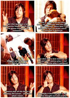 Another bromance for Daryl
