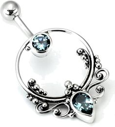 I took my belly ring out over the summer, I think I would wear this one. Cute!