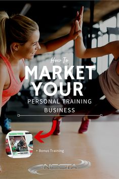 Learn how to market your personal training business to get more clients and create more revenue.   Personal Training // Personal Trainer // Personal Trainer Magazine // Personal Training Business // Become a Personal Trainer // Marketing for Personal Trainers