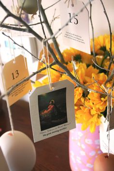 Chocolate on my Cranium: The Living Christ: An Easter Countdown
