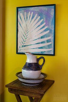 Como fazer você mesma uma gravura para decorar sua parede.