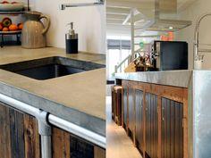 Afbeeldingsresultaat voor industriele keuken rvs