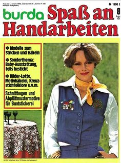 Burda Spass am Handarbeiten 8/76
