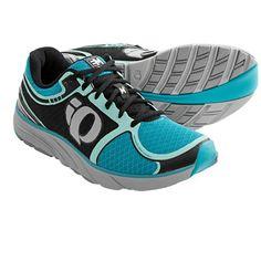 Pearl Izumi EM Road M3 Running Shoes (For Women) in Black/Scuba Blue