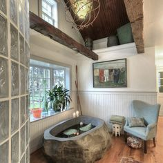 Plate Glass Windows And Wood Beams Design Ideas, Pictures, Remodel, and Decor - page 33