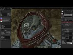 cyberalien substance painter - YouTube