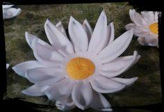 24 Edible DAISY DAISIES / Variety of sizes / gum paste / fondant flowers / sugar…