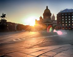 "Check out new work on my @Behance portfolio: ""Sunset at St. Isaac's Square"" http://be.net/gallery/49877937/Sunset-at-St-Isaacs-Square"