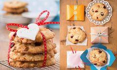 White chocolate cookies with macadamia nuts and cranberries / Schoko-Cookies mit Macadamia-Nüssen und Cranberries » Sanella