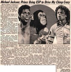 THIS STORY SEEMS TOTALLY ACCURATE #PRINCE #MICHAELJACKSON #BUBBLES