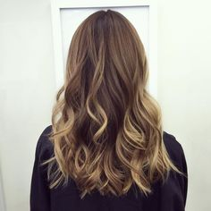 brown hair with blonde babylights