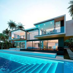 great names 38 Fabulous Latest House Designs Architecture Luxury Modern Homes, Luxury Homes Dream Houses, Dream Homes, Modern Architecture House, Architecture Design, Architecture Interiors, Modern Houses, Modern Mansion Interior, Chinese Architecture