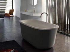 Kleine Badewannen Freistehend marmorin jena freistehende badewanne 190x118x110 cm 3 3