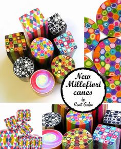 Ronit Golan - Polymer Clay Joy - Inspire to Create: New Millefiori Geometric Canes