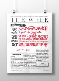 New York Magazine High Priority on Behance