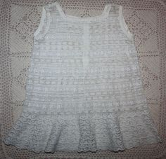 Antique Lace Child's Slip Early 1900s