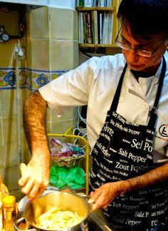 Cocina con Patrick en Madrid